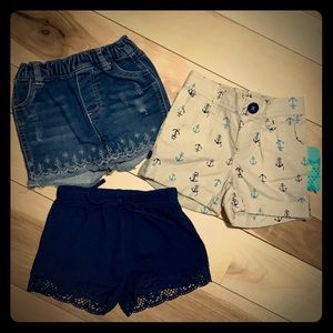 12 months shorts bundle